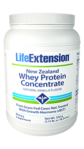 Life Extenstion New-Zealand-Whey-Protein-Concentrate-Natural-Vanilla-Flavor